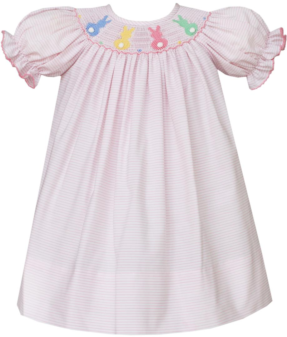 Smocked Easter Dress For Babies